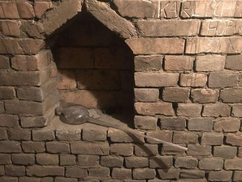 Kirchturm von weitem sichtbar