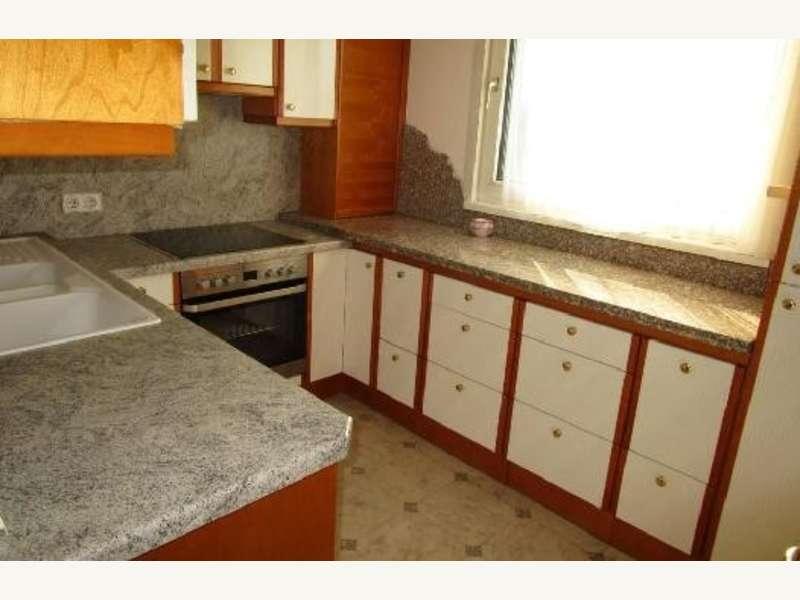 Aussicht Wohnzimmer und Küche